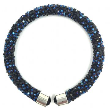 Sparkle dust cuff bracelet kit - black-navy